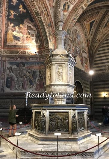 Battistero di San Giovanni Battista di Siena
