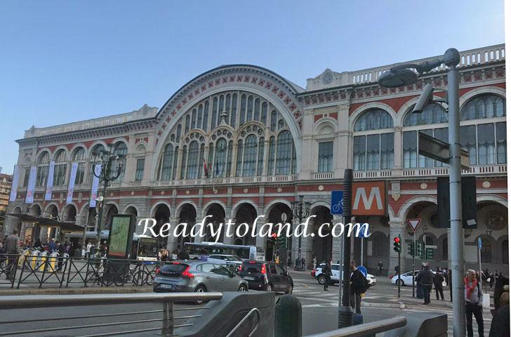 Porta Nuova Station Torino