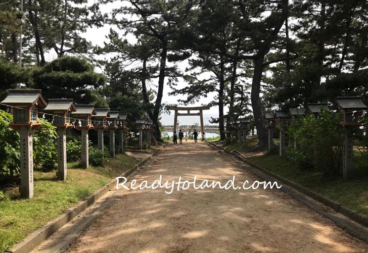 Sumiyoshi-shrine,Akashi