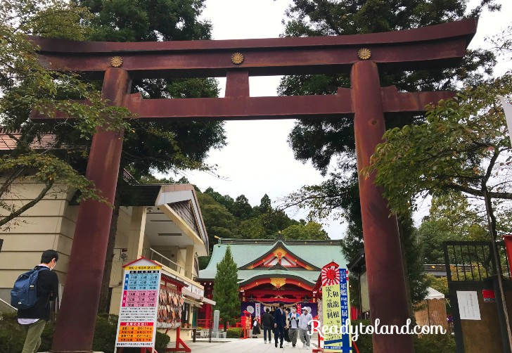 Gokoku Shrine, sendai