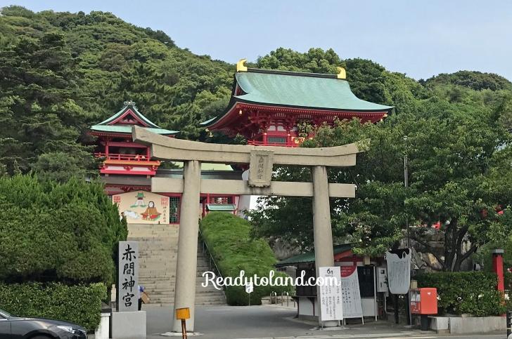 Akama-shrine,Shimonoseki